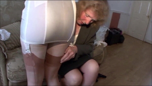 Plowing hard in company with european stepmom Satine Spark