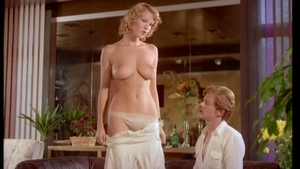 Very hot Brigitte Lahaie sucking dick