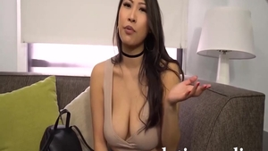 Hardcore sex with super hot asian stepmom