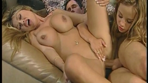 Very hot Kianna Dior double penetration orgy