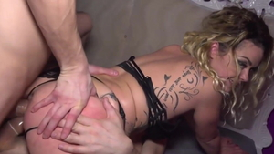 Young french blonde hair Ninos Paoli enjoys greatly MMF in HD