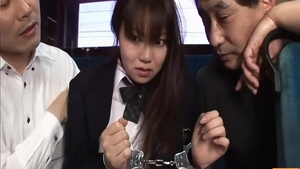 Sex with toys in public super sensual japanese wearing uniform
