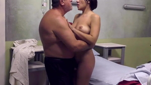 Young italian married babe enjoys greatly hard ramming in HD