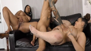 Cumshot big ass ebony