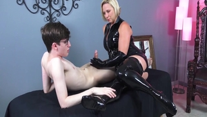 Very kinky mistress masturbation