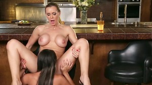 Nailing with very hawt Marina Angel & Tanya Tate