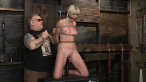 Blonde babe Marie Mccray wishes BDSM