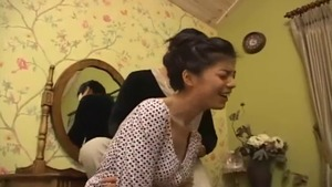 Hard slamming starring large tits korean brunette