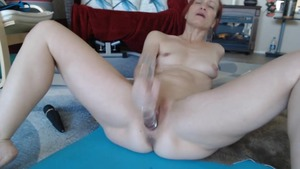 Hard pounding escorted by very small tits russian mature