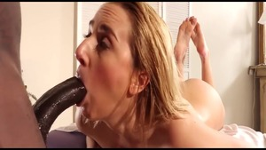 Busty Katie Morgan and Kate England dick sucking sex scene