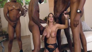 Nailed rough in company with hairy Brooklyn Chase