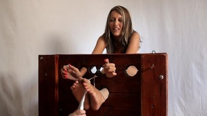 Angelica Lane tickle